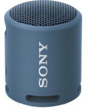 Boxa portabila Sony - SRS-XB13, impermeabila, albastru-inchis -1