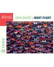 Puzzle Pomegranate de 1000 piese - Zbor de noapte, John Dilnot -1