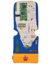 MACLAREN HUSA TEXTILA UNIVERSAL SEAT LINERS  NY CITY MAP -1