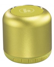 Boxa portabila Hama - Drum 2.0, galben/verde