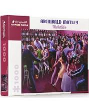 Puzzle Pomegranate de 1000 piese - Centura neagra, Archibald Motley