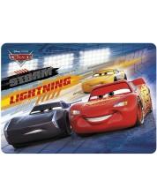 Protectie birou  Derform - Cars Lightning, carton