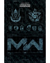 Poster maxi Pyramid - Call of Duty: Modern Warfare (Fractions)