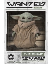 Poster maxi Pyramid - Star Wars: The Mandalorian (Wanted The Child)