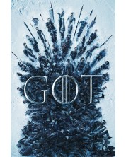 Poster maxi Pyramid - Game of Thrones (Throne Of The Dead)