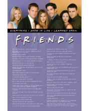 Poster maxi Pyramid - Friends (Everything I Know)