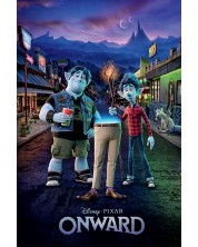 Poster maxi Pyramid Animation: Onward - Adventure