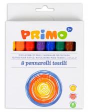 Markere textile Primo - 8 culori -1