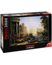 Puzzle Anatolian de 3000 piese - Port, Claude Loren
