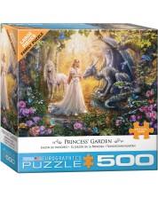 Puzzle Eurographics de 500 piese XL -  Princess' Garden, Jan Patrik
