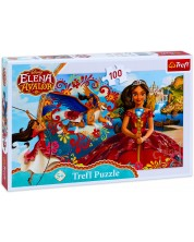 Puzzle Trefl de 100 piese - Magia din Avalor
