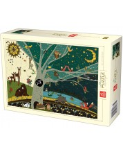 Puzzle Deico Games de 1000 piese - Nature, Day And Night