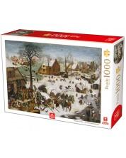 Puzzle Deico Games de 1000 piese - Pieter Breugel The Elder, The numbering at Bethlehem