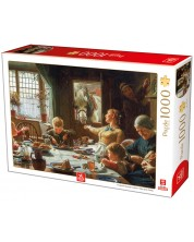 Puzzle Deico Games de 1000 piese - Frederick George Cotman, One of the Family