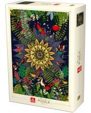 Puzzle Deico Games de 1000 piese - Nature, Tropical