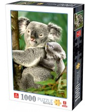 Puzzle Deico Games de 1000 piese - Animals Koalas