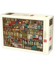 Puzzle Deico Games de 1000 piese - Pattern, Bookshelf