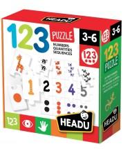 Puzzle educativ  Headu - Numere -1