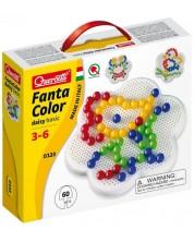 Mozaic de 60 piese Quercetti - Fantacolor Daisy, 15mm -1
