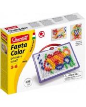 Mozaic de 150 piese Quercetti - Fantacolor Portable Small -1
