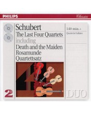Schubert: The Last Four Quartets - Death and the Maiden etc. (2 CD)