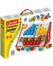 Mozaic de 42 piese Quercetti - Fantacolor Junior -1