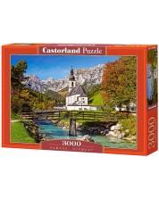 Puzzle Castorland de 3000 piese -  Ramsau, Germania