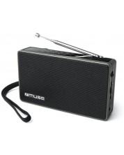 Radio Muse - M-030 R, negru