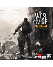 Extensie pentru jocul de societate This War of Mine: Days of the Siege
