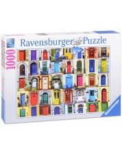 Puzzle Ravensburger de 1000 piese - Usi