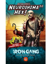 Extensie pentru jocul de societate Neuroshima HEX 3.0 - Iron Gang Hexpuzzles Pack