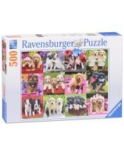 Puzzle Ravensburger de 500 piese - Catelusi