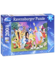 Puzzle Ravensburger de 200 piese Mare - Eroii Disney