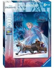 Puzzle Ravensburger de 200 XXL piese - Padurea magica in Regatul de gheata 2