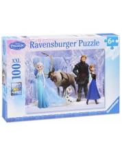 Puzzle Ravensburger de 100 XXL piese - Disney - Regatul de gheata