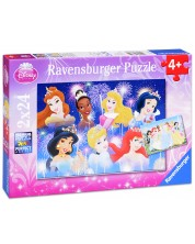 Puzzle Ravensburger din 2 x 24 piese - Printese Disney