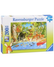 Puzzle Ravensburger de 200 piese - Prietenii din padure