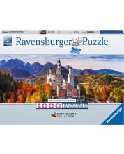 Puzzle Ravensburger de 1000 piese - Castelul Neuschwanstein, Bavaria