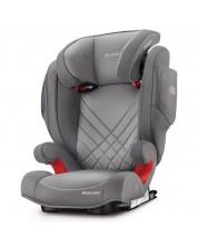 Scaun auto Recaro - Monza Nova 2 Seatfix, 15-36 kg, Aluminium Grey -1