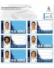 Set etichete scolare Ars Una - FC Real Madrid, 18 bucati -1