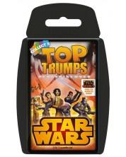 Joc cu carti Top Trumps - Star Wars Rebels