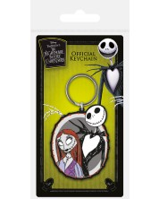Breloc Pyramid - Nightmare Before Christmas (Jack & Sally)