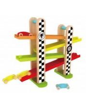 Jucarie din lemn pentru copii Classic World - Pista de curse -1