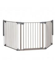 Grilaj din metal de protectie, 3 module, Safety 1st, gri -1