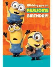 Felicitare muzicala Danilo - Minion Tickle: Birthday -1