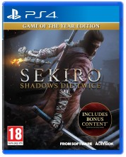 Sekiro: Shadows Die Twice - Game of the Year Edition (PS4)