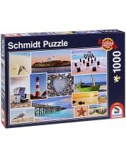 Puzzle Schmidt de 1000 piese - La mare