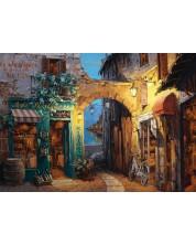 Puzzle Schmidt de 1000 piese - Strada de langa lacul Como, Sam Park
