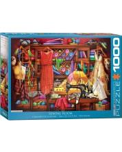 Puzzle Eurographics de 1000 piese - Atelier de croitorie, Ciro Marceti
