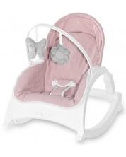 Sezlong pentru bebelusi cu tavita - Lorelli - Alex, Cameo Rose Stars -1